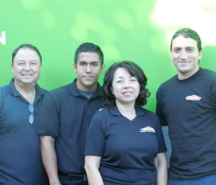 SERVPRO of West Covina team headed to a commercial site