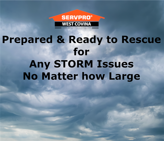 Storm Damage You are not alone in a Storm, call SERVPRO